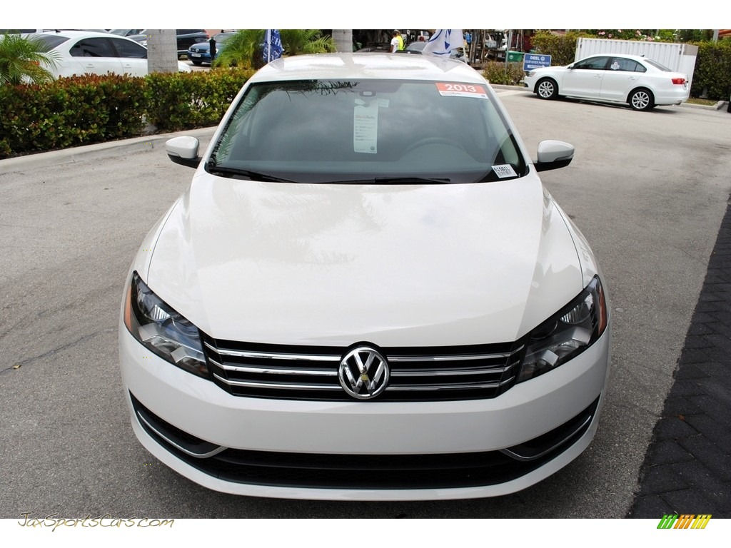 2013 Passat 2.5L Wolfsburg Edition - Candy White / Titan Black photo #3