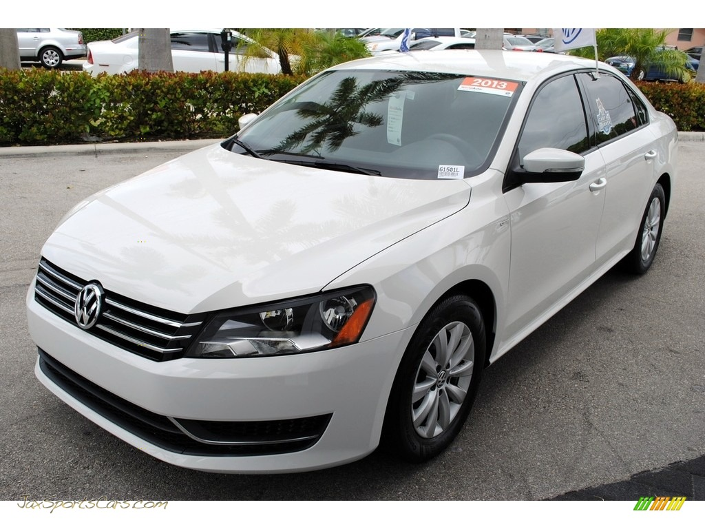 2013 Passat 2.5L Wolfsburg Edition - Candy White / Titan Black photo #4
