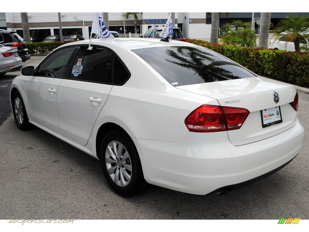 2013 Passat 2.5L Wolfsburg Edition - Candy White / Titan Black photo #6