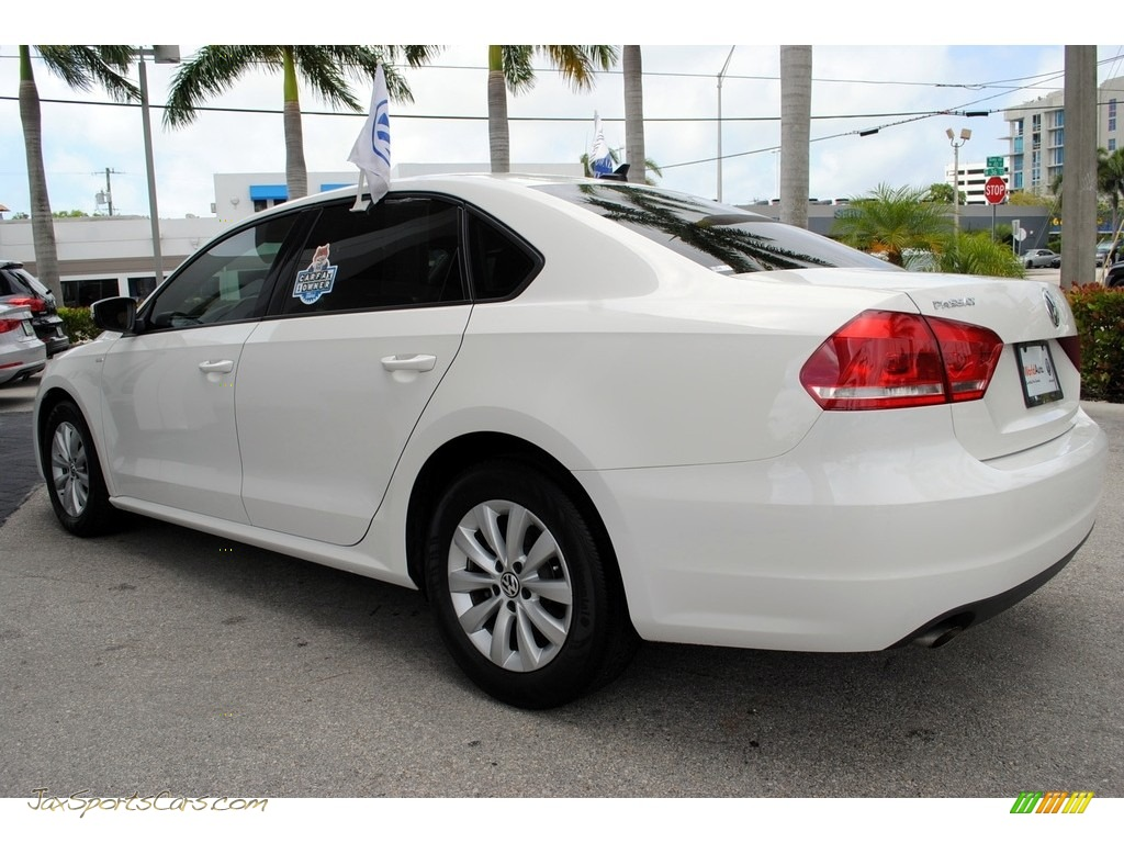 2013 Passat 2.5L Wolfsburg Edition - Candy White / Titan Black photo #7