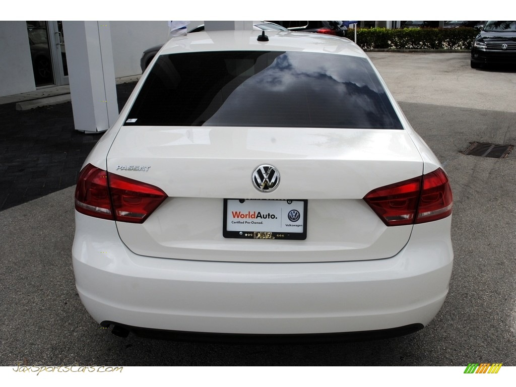2013 Passat 2.5L Wolfsburg Edition - Candy White / Titan Black photo #8