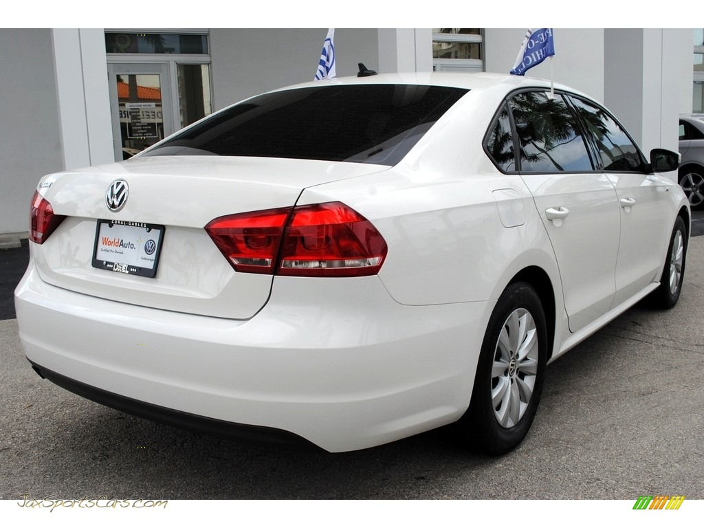 2013 Passat 2.5L Wolfsburg Edition - Candy White / Titan Black photo #10