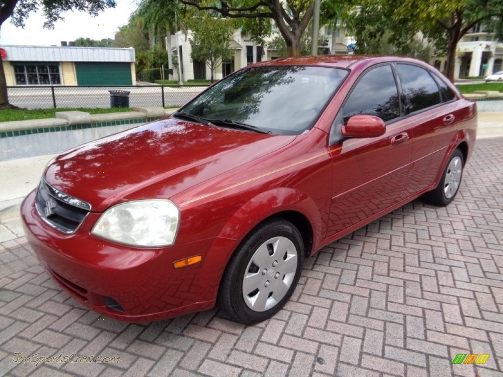 2008 Forenza  - Fusion Red Metallic / Grey photo #1
