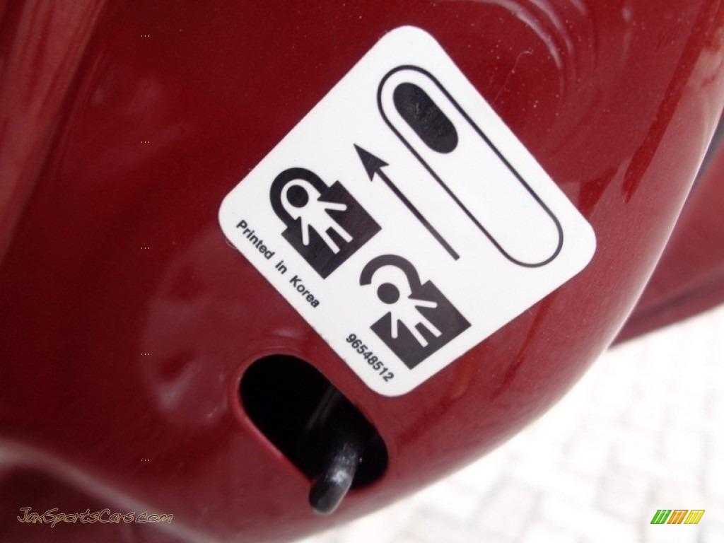 2008 Forenza  - Fusion Red Metallic / Grey photo #34