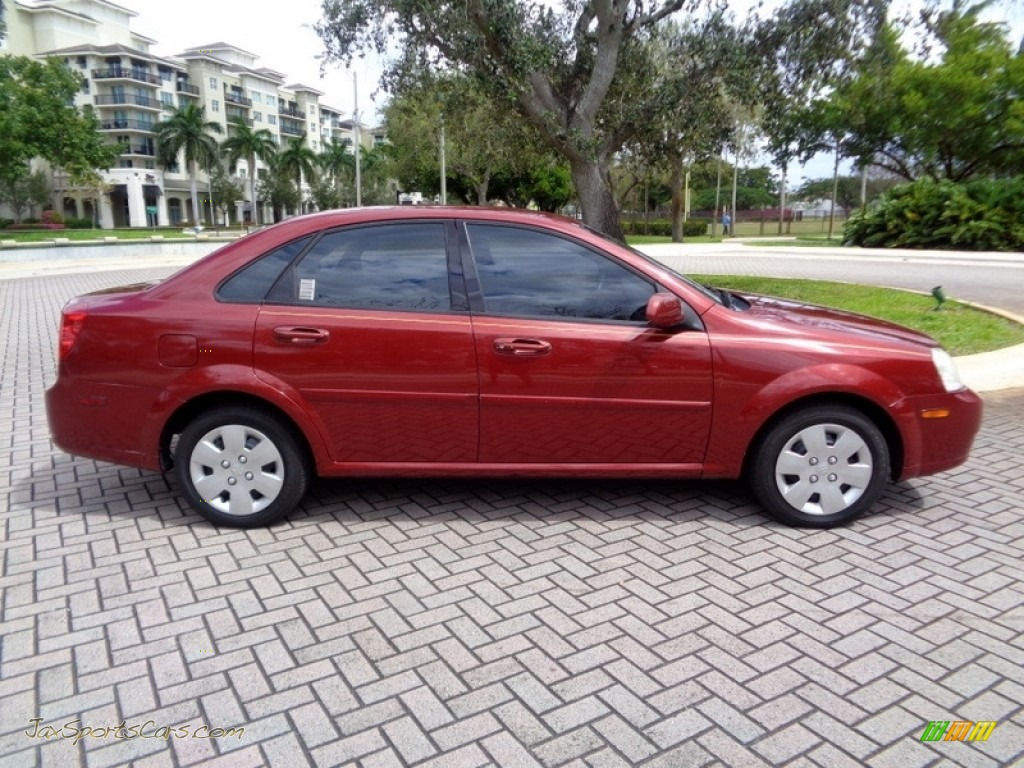 2008 Forenza  - Fusion Red Metallic / Grey photo #60