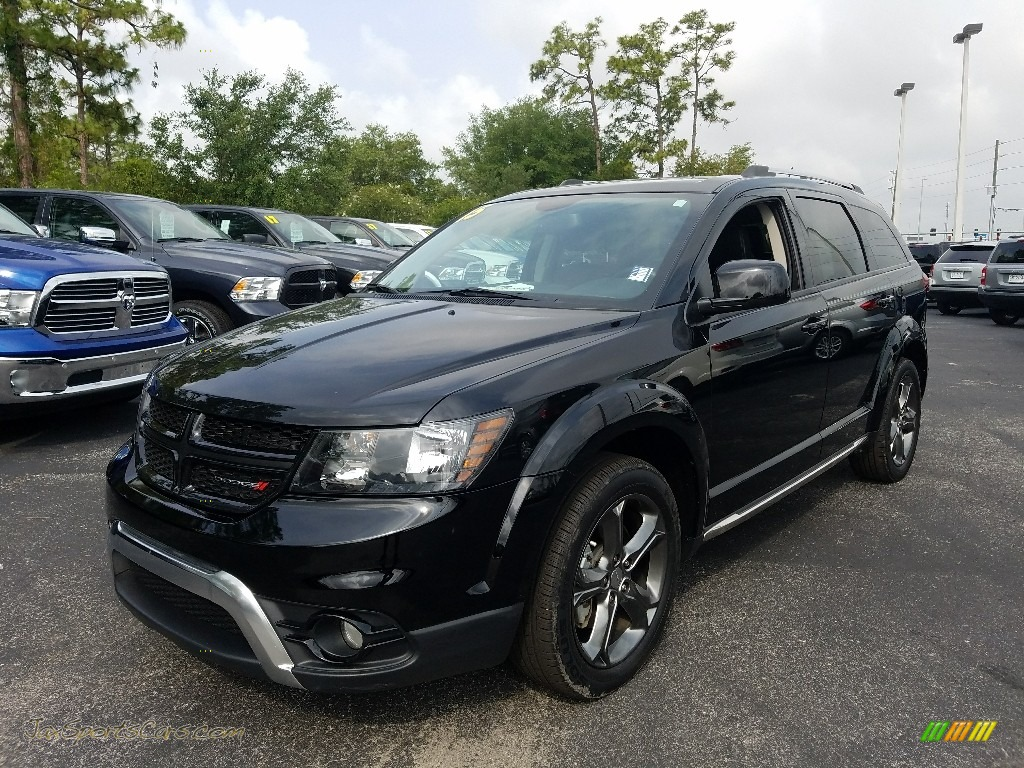 Pitch Black / Black Dodge Journey Crossroad