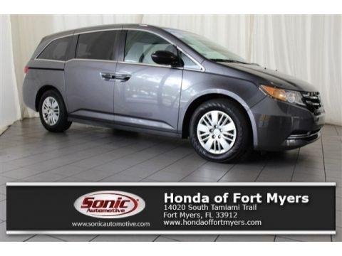 Modern Steel Metallic 2016 Honda Odyssey LX