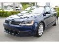 Volkswagen Jetta SE Sedan Tempest Blue Metallic photo #5