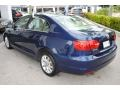 Volkswagen Jetta SE Sedan Tempest Blue Metallic photo #6