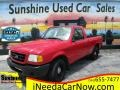 Ford Ranger XL Regular Cab Bright Red photo #1