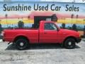 Ford Ranger XL Regular Cab Bright Red photo #3