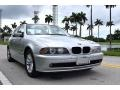 BMW 5 Series 525i Sedan Titanium Silver Metallic photo #9