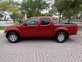 Nissan Frontier SE Crew Cab 4x4 Red Brawn photo #4