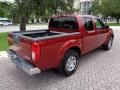 Nissan Frontier SE Crew Cab 4x4 Red Brawn photo #10