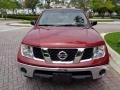 Nissan Frontier SE Crew Cab 4x4 Red Brawn photo #16