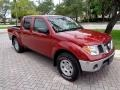 Nissan Frontier SE Crew Cab 4x4 Red Brawn photo #27