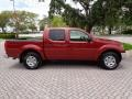 Nissan Frontier SE Crew Cab 4x4 Red Brawn photo #51