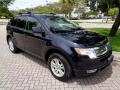 Ford Edge SEL AWD Dark Ink Blue Metallic photo #14