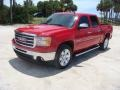 GMC Sierra 1500 SLE Crew Cab Fire Red photo #3
