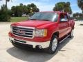 GMC Sierra 1500 SLE Crew Cab Fire Red photo #22