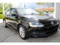 Volkswagen Jetta SE Sedan Black photo #2