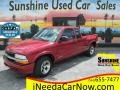 Chevrolet S10 LS Extended Cab Dark Cherry Red Metallic photo #1