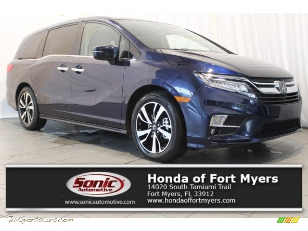2018 Odyssey Elite - Obsidian Blue Pearl / Gray photo #1