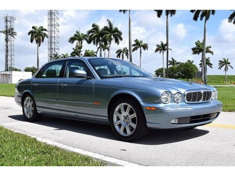Zircon Metallic 2005 Jaguar XJ XJ8 L