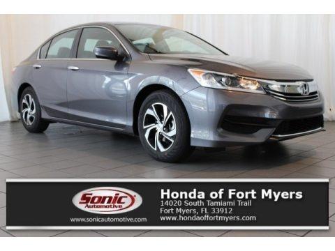 Modern Steel Metallic 2017 Honda Accord LX Sedan