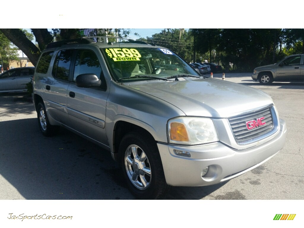 2005 Envoy XL SLE - Liquid Silver Metallic / Light Gray photo #1