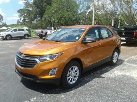 Orange Burst Metallic 2018 Chevrolet Equinox LS