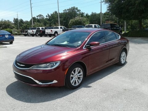 Velvet Red Pearl 2017 Chrysler 200 Limited Platinum