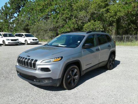 Billet Silver Metallic 2017 Jeep Cherokee Sport Altitude