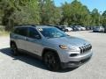 Jeep Cherokee Sport Altitude Billet Silver Metallic photo #7