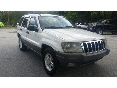 Stone White 2003 Jeep Grand Cherokee Laredo
