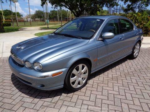 Zircon Metallic 2004 Jaguar X-Type 3.0