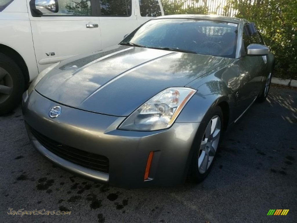 Chrome Silver Metallic / Charcoal Nissan 350Z Touring Coupe