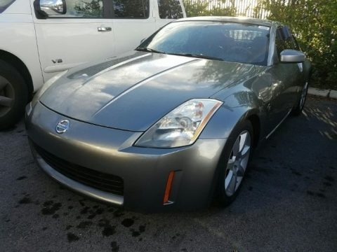 Chrome Silver Metallic 2005 Nissan 350Z Touring Coupe