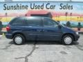 Dodge Caravan SE Patriot Blue Pearl photo #2