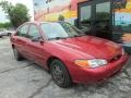 Ford Escort SE Sedan Bright Red photo #4