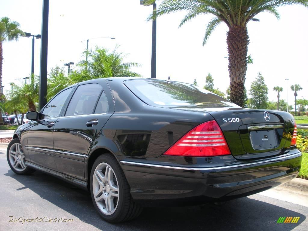 2006 Mercedes Benz S 500 Sedan In Black Photo 8 470872