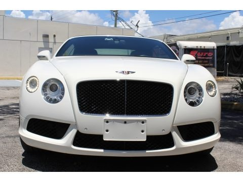 Glacier White 2013 Bentley Continental GTC V8