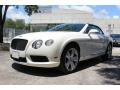 Bentley Continental GTC V8  Glacier White photo #2
