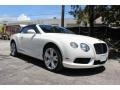 Bentley Continental GTC V8  Glacier White photo #3