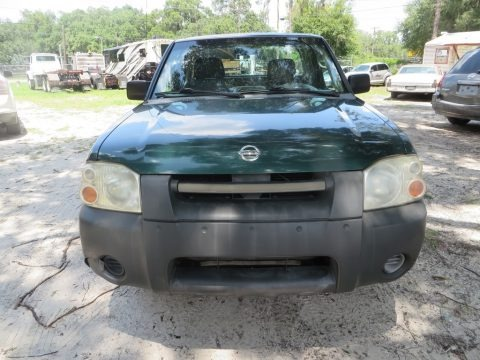 Alpine Green Metallic 2002 Nissan Frontier XE King Cab