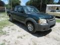 Nissan Frontier XE King Cab Alpine Green Metallic photo #2