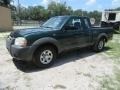 Nissan Frontier XE King Cab Alpine Green Metallic photo #3