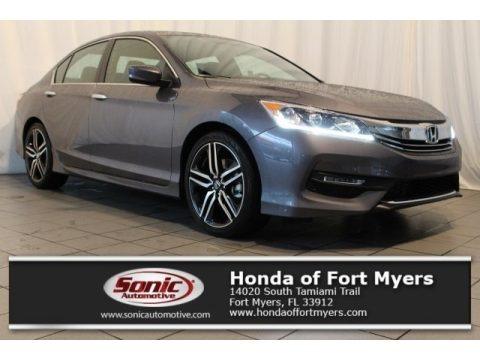 Modern Steel Metallic 2017 Honda Accord Sport Sedan