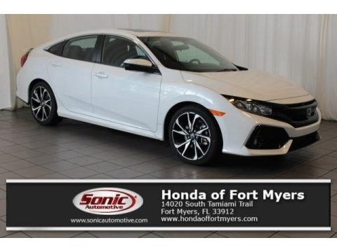 White Orchid Pearl 2017 Honda Civic Si Sedan