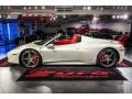 Ferrari 458 Spider Bianco Avus (White) photo #2